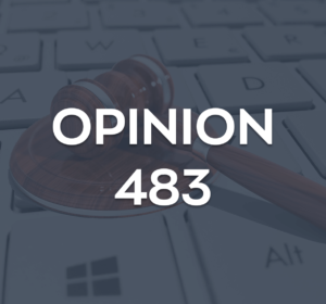 Opinion 483