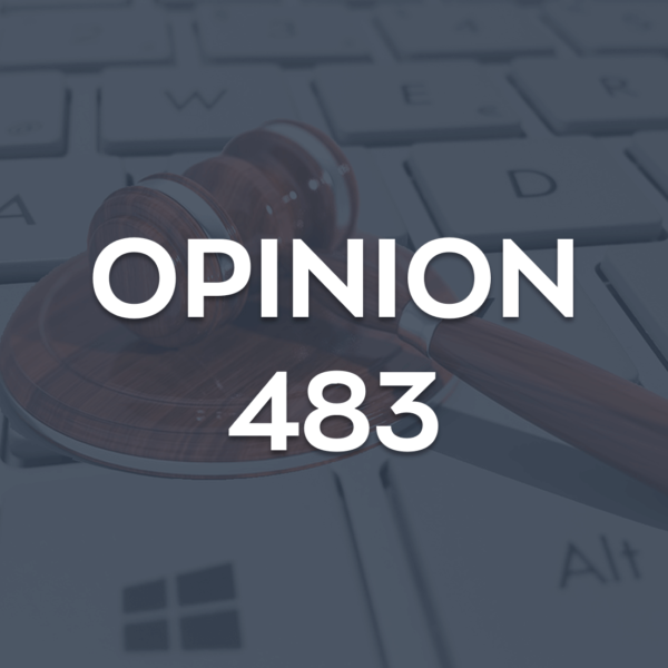 Opinion 483