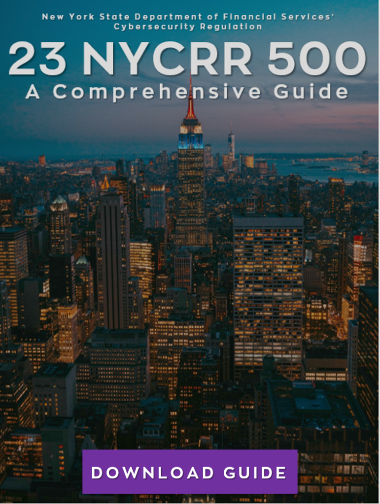 Guide eBook Cover 23 NYCRR 500