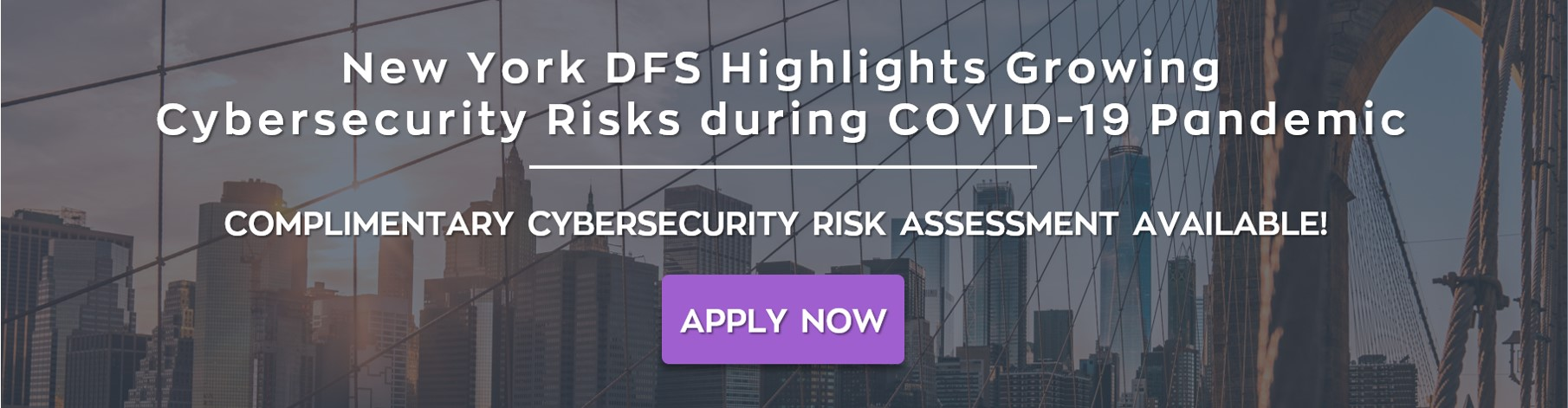 NYCRR Cybersecurity Risk Assessment COVID 19